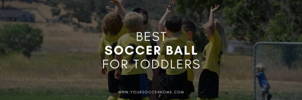 post title over picture of toddlers playing soccer
