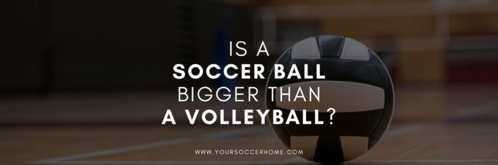 soccer ball vs volleyball image