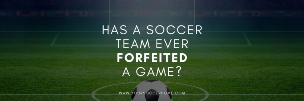 soccer team forfeiting game header image