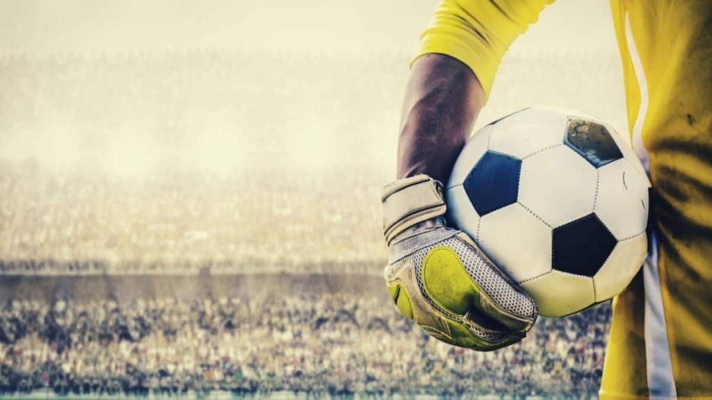 soccer goalie handball