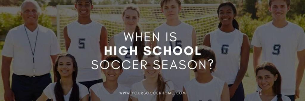 High school team behind post title