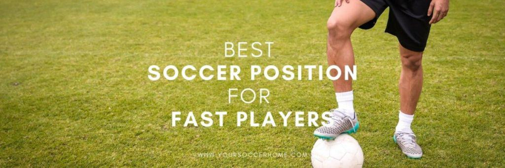 fast soccer player