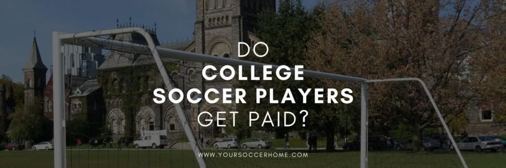 Post title over background of college soccer field