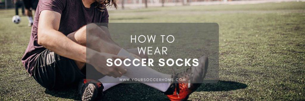 post title over image of player wearing soccer socks