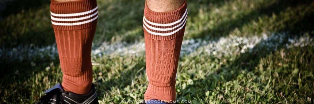Soccer socks over shin guards