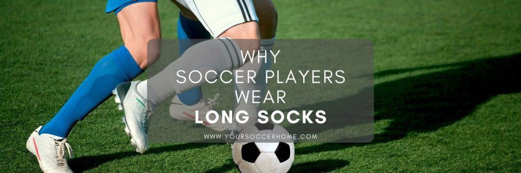 Post title over image of soccer player in long socks