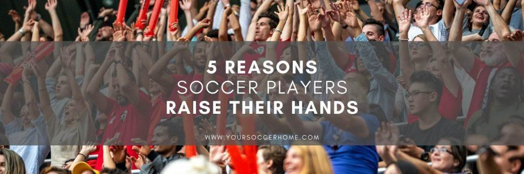 post title over image of soccer fans raising hands