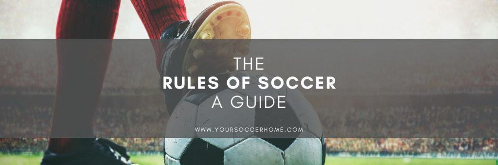 Post title over image of soccer player