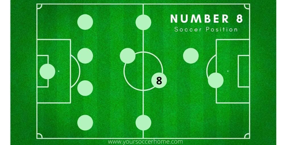 number 8 soccer position