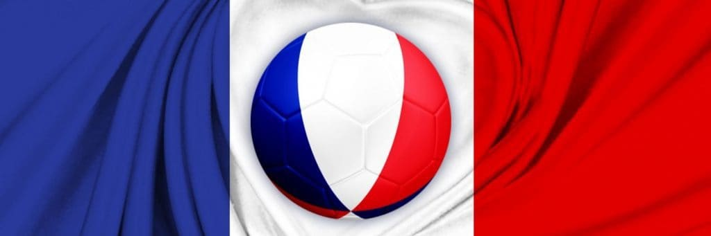 red, white, and blue, soccer ball