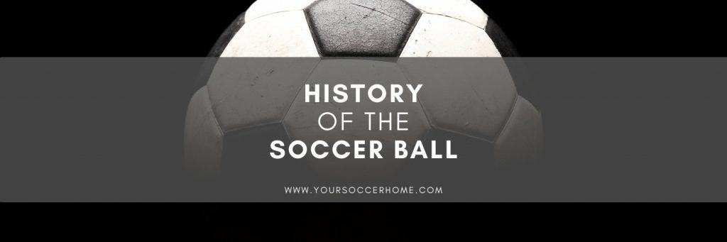 Soccer ball history title image